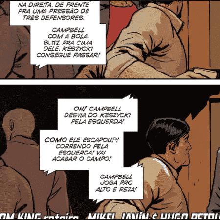 Everaldo Marques será homenageado nos quadrinhos do Batman - Reprodução