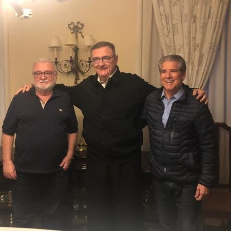 Paulo Garcia (e), Mário Gobbi (c) e Antônio Roque Citadini (d) - Divulgação
