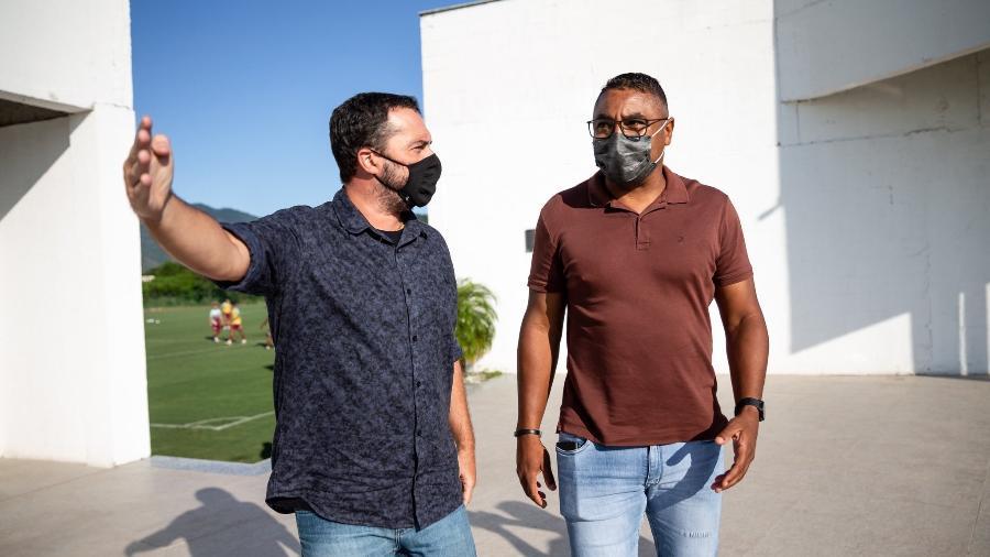 Fluminense de Roger Machado e Mário Bittencourt enfrenta dificuldades por reforços no mercado da bola - Divulgação/Fluminense FC