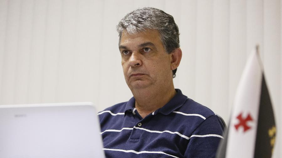 Carlos Brazil deixou o cargo de gerente das categorias de base do Vasco - Rafael Ribeiro / Vasco