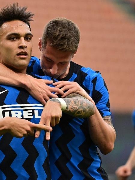 Campeã italiana, Inter de Milão vai enfrentar Arsenal na Florida Cup - MIGUEL MEDINA / AFP