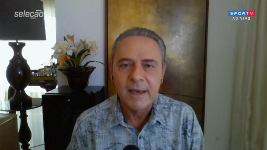 """Luis Roberto solta a voz em abertura do """"Seleção SporTV"""" - Reprodução/SporTV"""