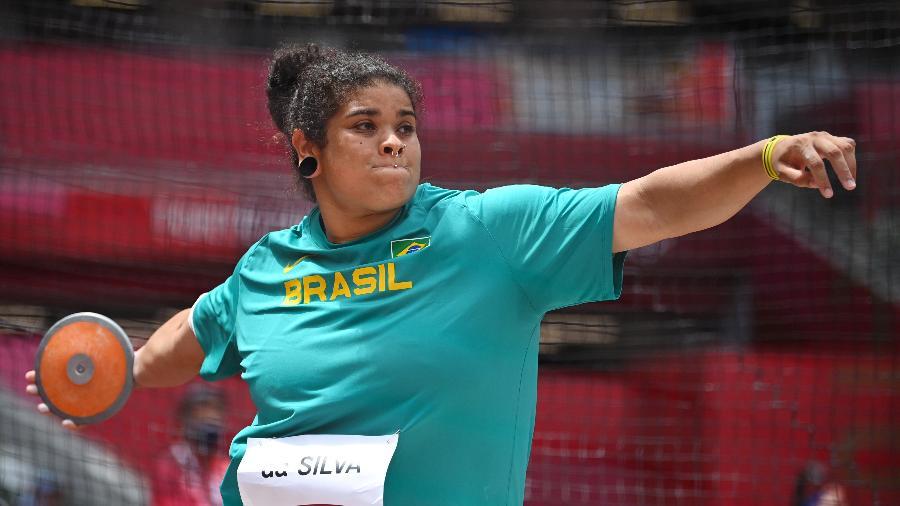 Izabela da Silva em ação nos Jogos Olímpicos de Tóquio - REUTERS/Dylan Martinez