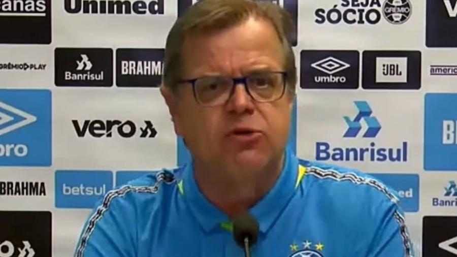 Marcos Herrmann mostrou revolta com a liberação do público no Maracanã em jogo da Copa do Brasil - Reprodução/YouTube