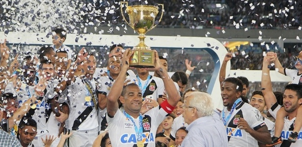 Vasco foi bicampeão carioca invicto e já está há 28 partidas sem derrota - Paulo Fernandes/Vasco.com.br
