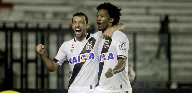 Vasco saiu perdendo, mas arrancou empate aos 47 minutos do 2º tempo com Rafael Vaz