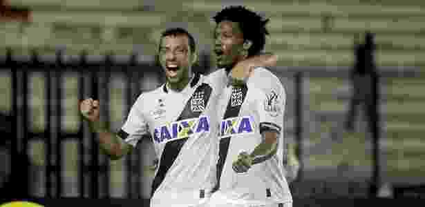 Vasco saiu perdendo, mas arrancou empate aos 47 minutos do 2º tempo com Rafael Vaz - Paulo Fernandes/Vasco.com.br