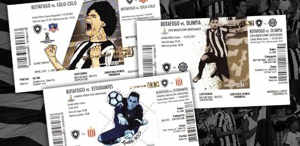 Botafogo inovou com ingressos personalizados em jogos da Libertadores