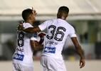 """Santistas comemoram decisão na Vila e avisam: """"Crescemos na hora certa"""" - GUILHERME DIONíZIO/ESTADÃO CONTEÚDO"""