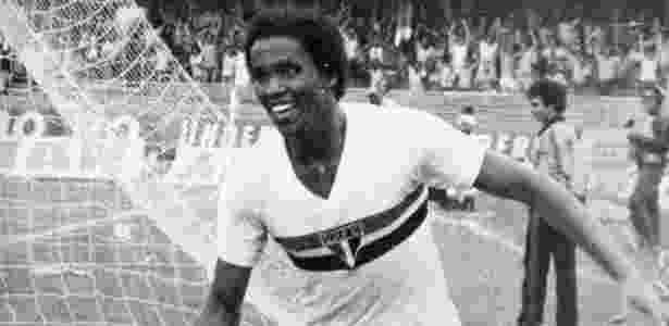 Serginho Chulapa quando jogava no São Paulo - Folhapress - Folhapress