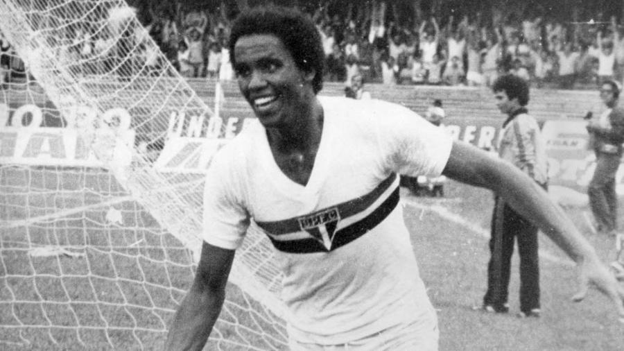 Serginho Chulapa quando jogava no São Paulo - Folhapress