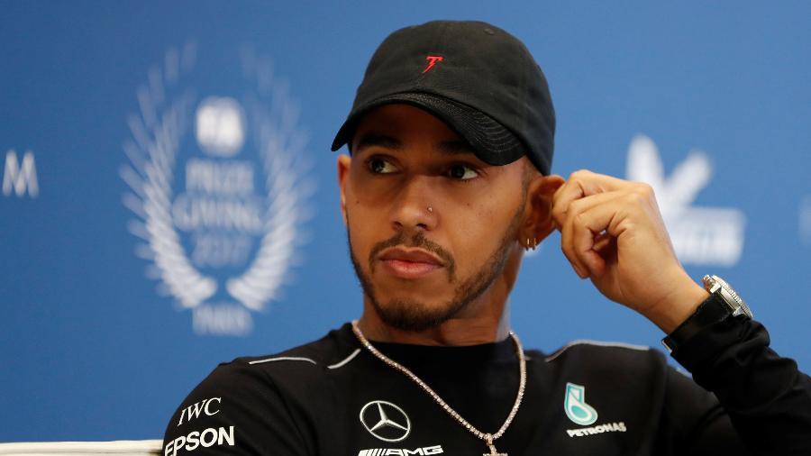 O piloto Lewis Hamilton - Gonzalo Fuentes/Reuters