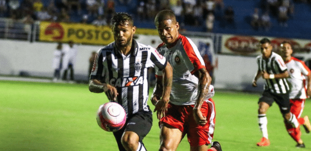 Carlos disputa em jogo entre Atlético-MG e Boa Esporte