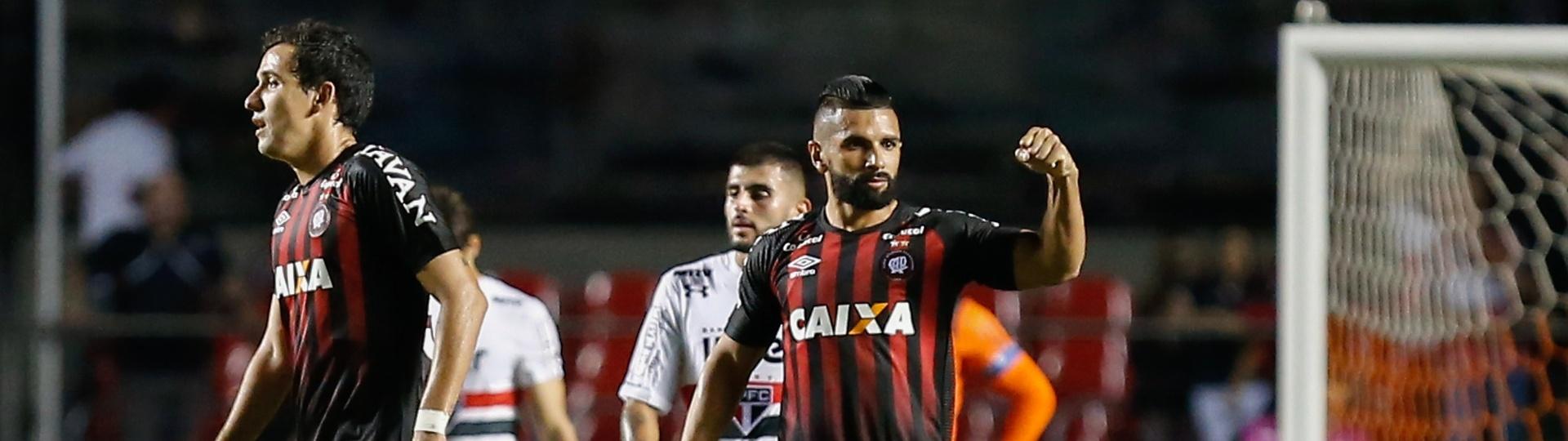 Guilherme Atlético-PR São Paulo Copa do Brasil