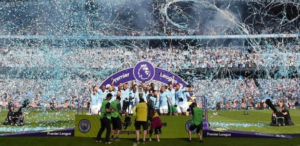 Manchester City fez 100 pontos no Campeonato Inglês