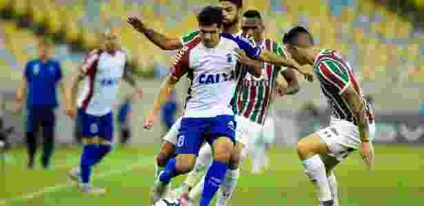 Em 2018, paraguaio passou por Náutico e Paraná (foto); seguir no Brasil é possibilidade - Thiago Ribeiro/AGIF