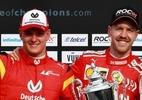 Schumacher estaria orgulhoso do filho na Corrida dos Campeões, diz Vettel - Divulgação