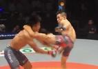 Lutador chinês estreia com nocaute impressionante em evento de MMA