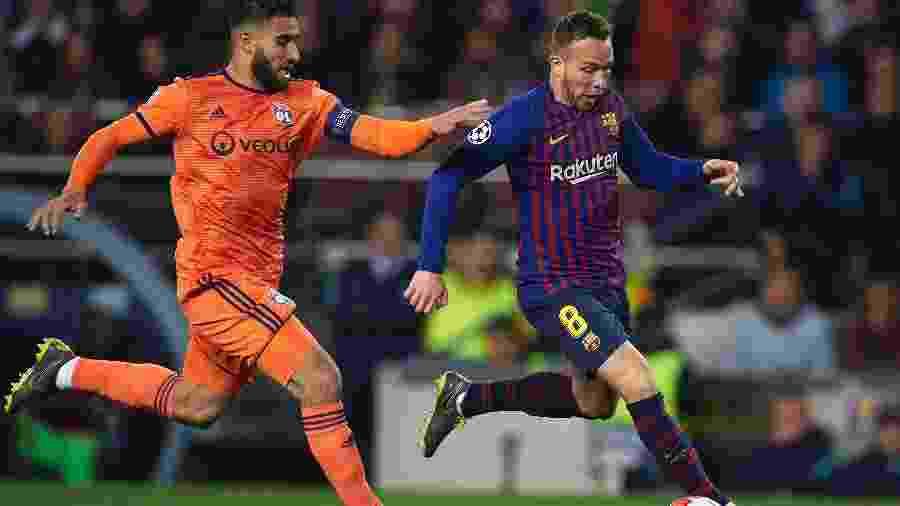 Arthur, do Barcelona, está perto de ser oficializado como reforço da Juventus - Quality Sport Images/Getty Images