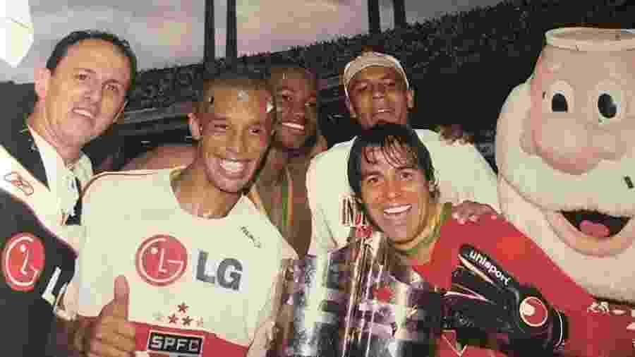 Ex-goleiro Bosco foi reserva de Rogério Ceni no São Paulo por seis anos - Arquivo pessoal