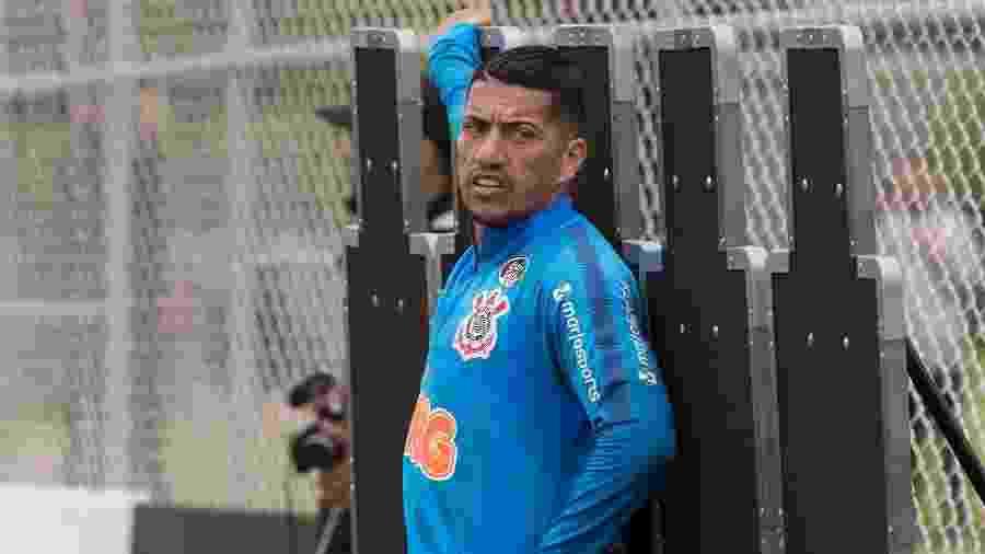 Ralf volta a ficar à disposição após sete jogos, mas deve ficar no banco de reservas hoje, na Arena - Daniel Augusto Jr./Agência Corinthians