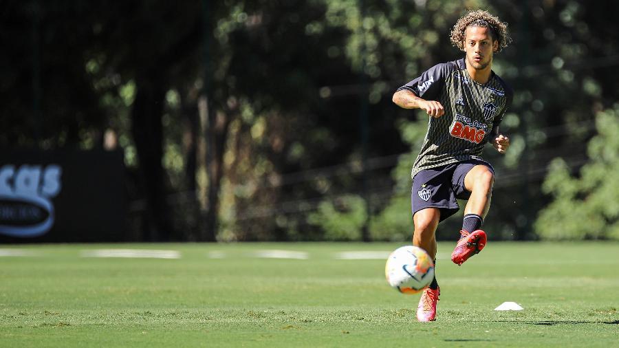 Guga, lateral direito do Atlético-MG, está perto de selar a mudança para o Spartak de Moscou, da Rússia - Pedro Souza/Atlético-MG/Divulgação