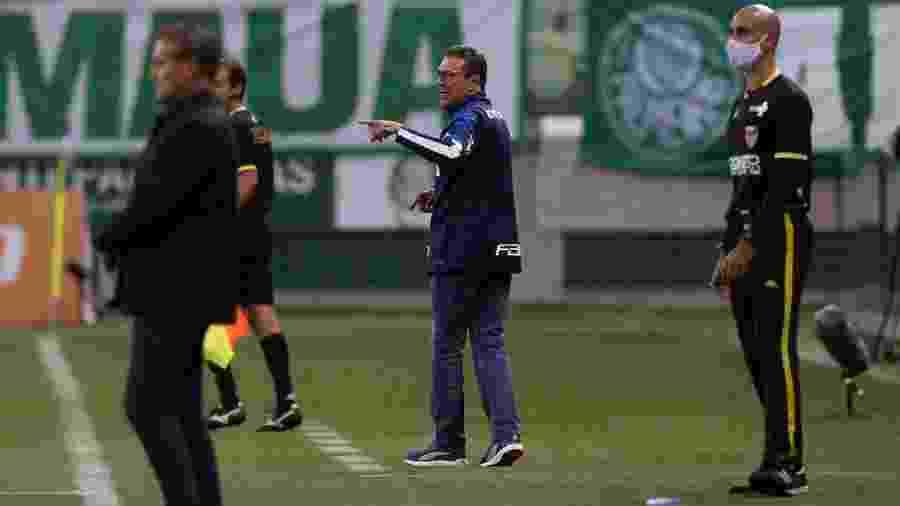 Vanderlei Luxemburgo comanda Palmeiras contra Santo André - Cesar Greco/Palmeiras