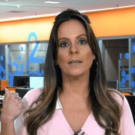 Fabíola Andrade, comentarista do SporTV - Reprodução/SporTV