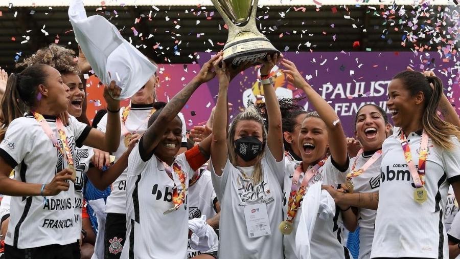 Corinthians é campeão do Campeonato Paulista Feminino 2020 - Marco Galvão/Corinthians