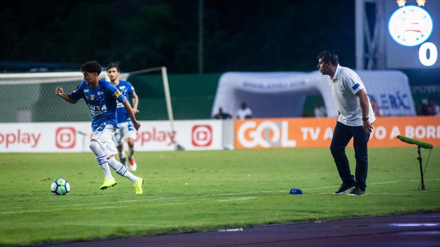 Alejandro Viniegra já recebeu proposta do exterior, mas o Cruzeiro rejeitou a oferta no ano passado - Bruno Haddad/Cruzeiro