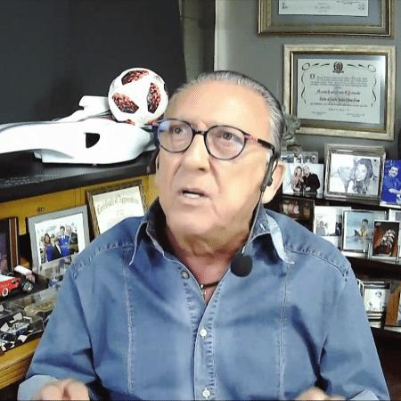 Galvão Bueno, em participação no Seleção SporTV - Reprodução/SporTV