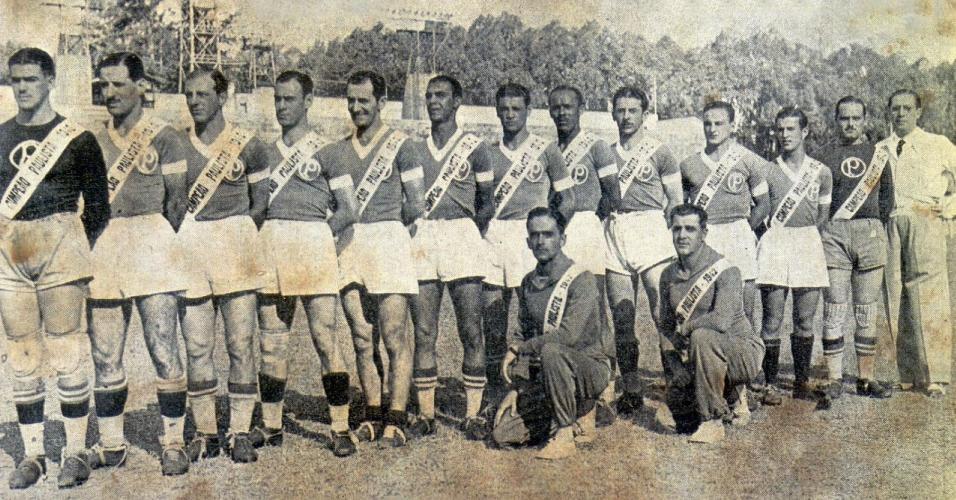 Time do Palmeiras na campanha da Arrancada Heróica