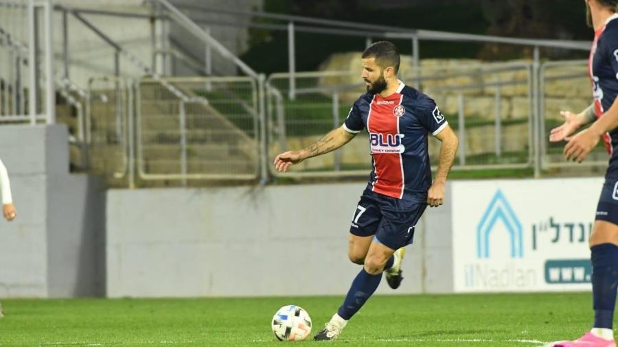 Pedro Petrazzi atua no futebol de Israel, país que é exemplo na vacinação contra covid-19 - Divulgação