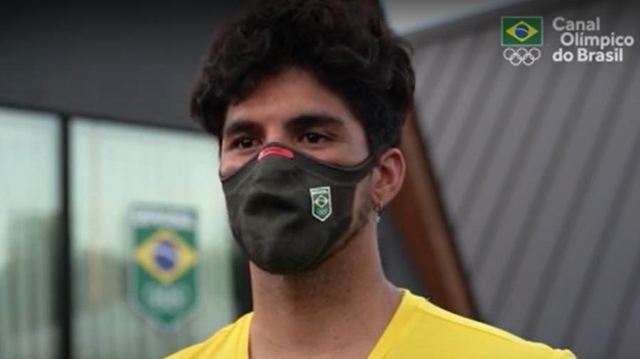 Gabriel Medina é favorito para a medalha de ouro no surfe masculino - Reprodução/Canal Olímpico do Brasil