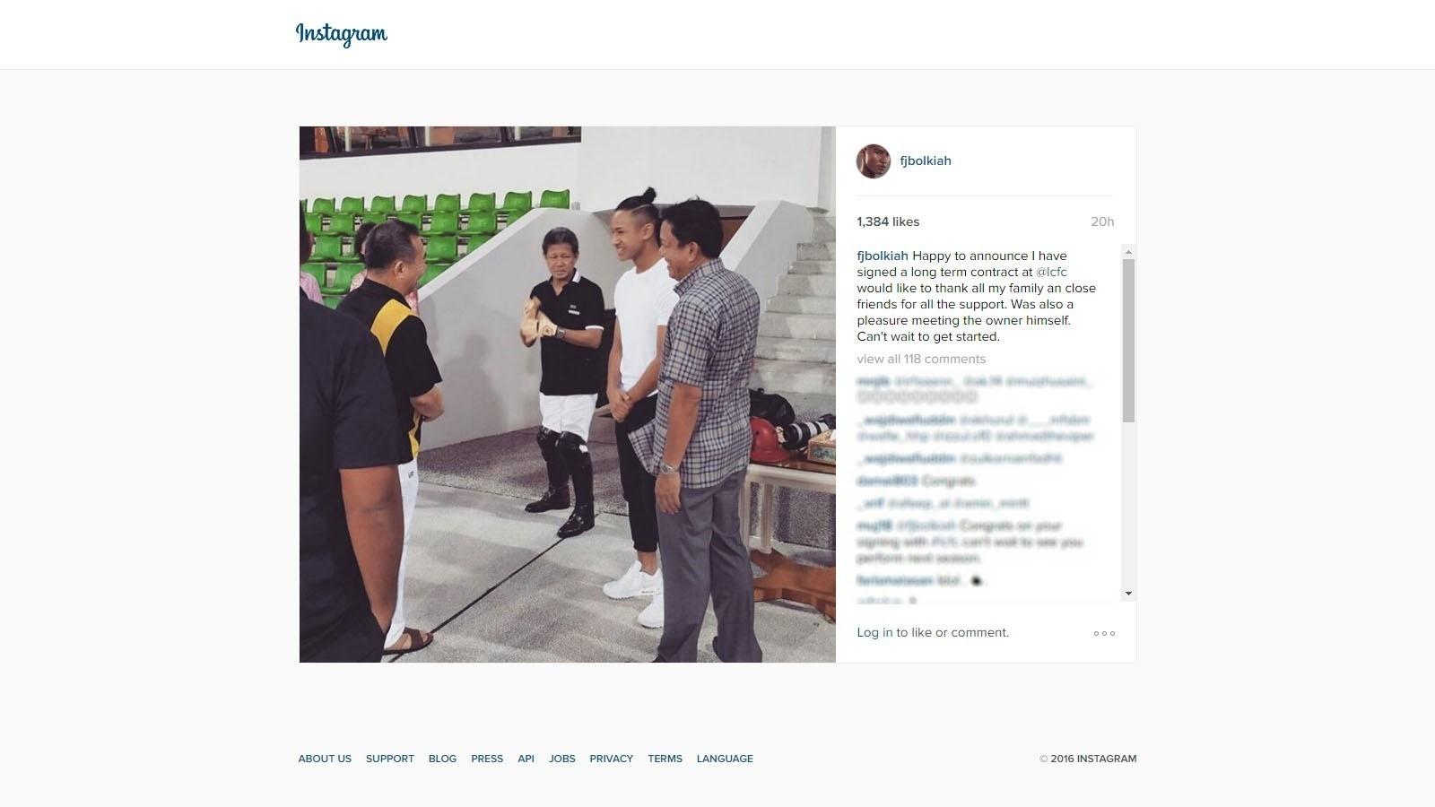 Sobrinho de sultão de Brunei assina contrato para jogar pelo Leicester -  16 03 2016 - UOL Esporte 37bf2d7653159