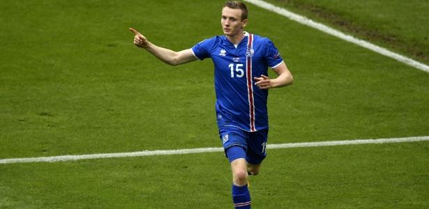 Islândia venceu a Áustria e se classificou para as oitavas de final da Eurocopa - Martin Bureau/AFP Photo