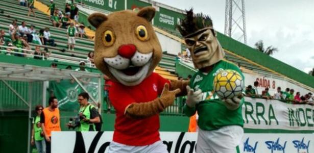 Em Santa Catarina, Chapecoense e Inter de Lages fizeram jogo em clima de paz