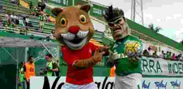 Em Santa Catarina, Chapecoense e Inter de Lages fizeram jogo em clima de paz - @interlages/Twitter