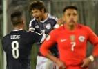 Paraguai surpreende Chile nas Eliminatórias; Colômbia empata com Venezuela - AFP PHOTO / Martin BERNETTI