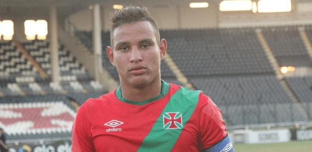 Gabriel está no Vasco desde 2011