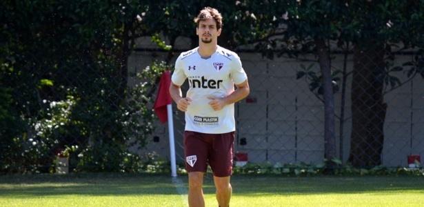 Rodrigo Caio está se recuperando de uma entorse no pé esquerdo