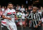 Fabinho lamenta oportunidades perdidas contra o SP e critica arbitragem - Ale Cabral/AGIF
