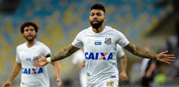 Na mira de times ingleses, atacante do Santos marcou 18 gols no Brasileirão