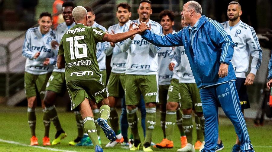 bc9c433ae1d60 Palmeiras  Vídeo de Deyverson não foi brincadeira