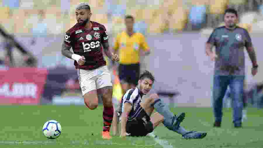 Gabigol pode voltar ao time depois de período afastado por conta de uma lesão muscuclar - Thiago Ribeiro/AGIF
