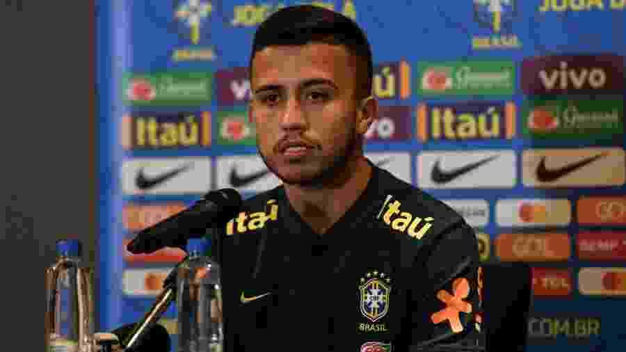 Matheus Henrique fala pela primeira vez como jogador da seleção brasileira principal - Pedro Martins/Mowa Press