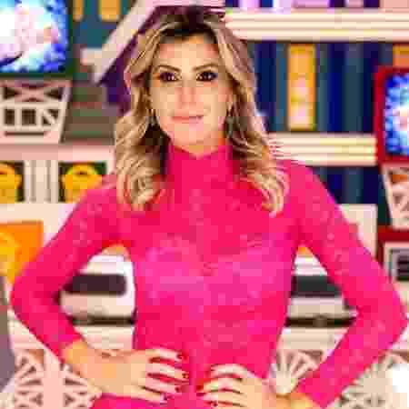 Paula começou a trabalhar na TV em 2009, na Record, com o apresentador Gugu Liberato - Reprodução/Instagram