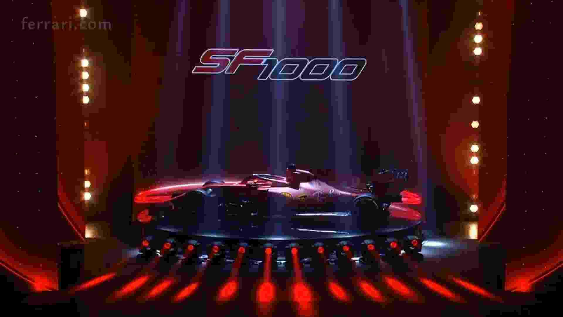 Nome faz menção aos 1000 GPs completados pela Ferrari - Ferrari/Divulgação