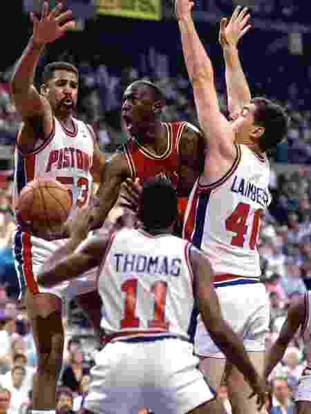 Jordan Pistons - Andrew D. Bernstein/NBAE via Getty Images - Andrew D. Bernstein/NBAE via Getty Images