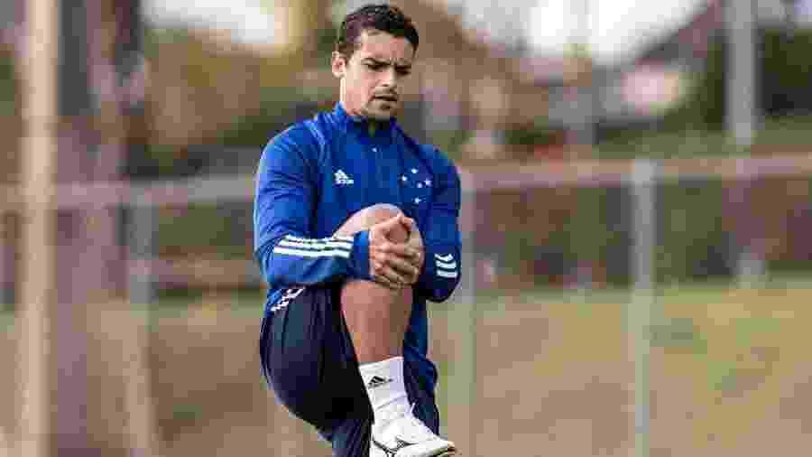Jean retoma treinamentos no Cruzeiro após testar positivo para covid-19 - Gustavo Aleixo/Cruzeiro